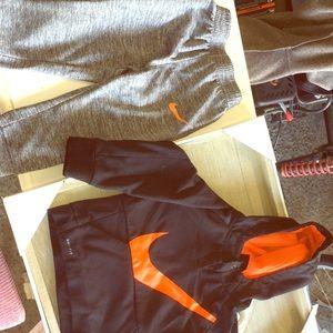 Little boys Nike sweatsuit